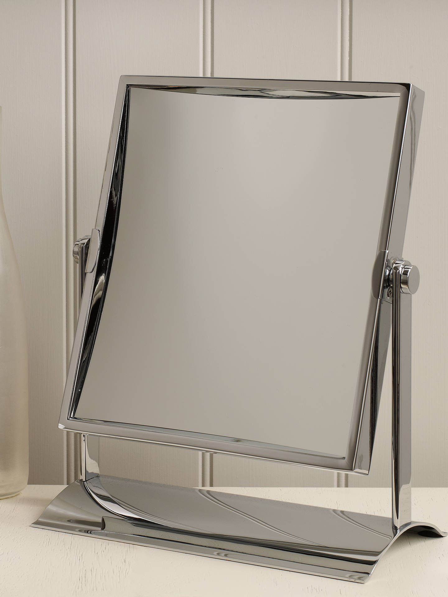 Buy John Lewis & Partners Rectangular Double-Sided Magnifying Pivot Mirror Online at johnlewis.com
