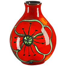 Buy Poole Pottery Poppyfield Bud Vase, H12.5cm Online at johnlewis.com