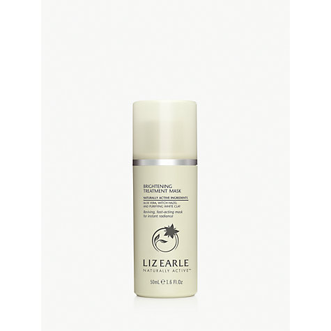 Buy Liz Earle Brightening Treatment Mask™, 50ml Online at johnlewis.com