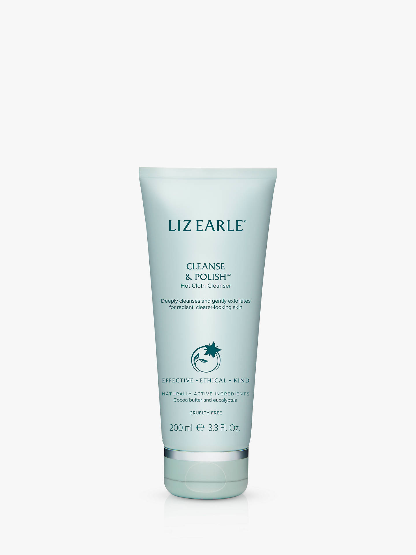 BuyLiz Earle Cleanse & Polish™ Hot Cloth Cleanser, 200ml Online at johnlewis.com