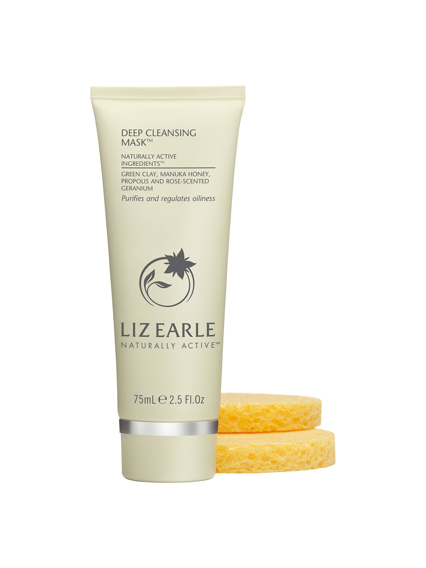 BuyLiz Earle Deep Cleansing Mask™, 75ml with 2 Sponges Online at johnlewis.com