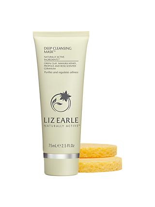 Liz Earle Deep Cleansing Mask™, 75ml with 2 Sponges