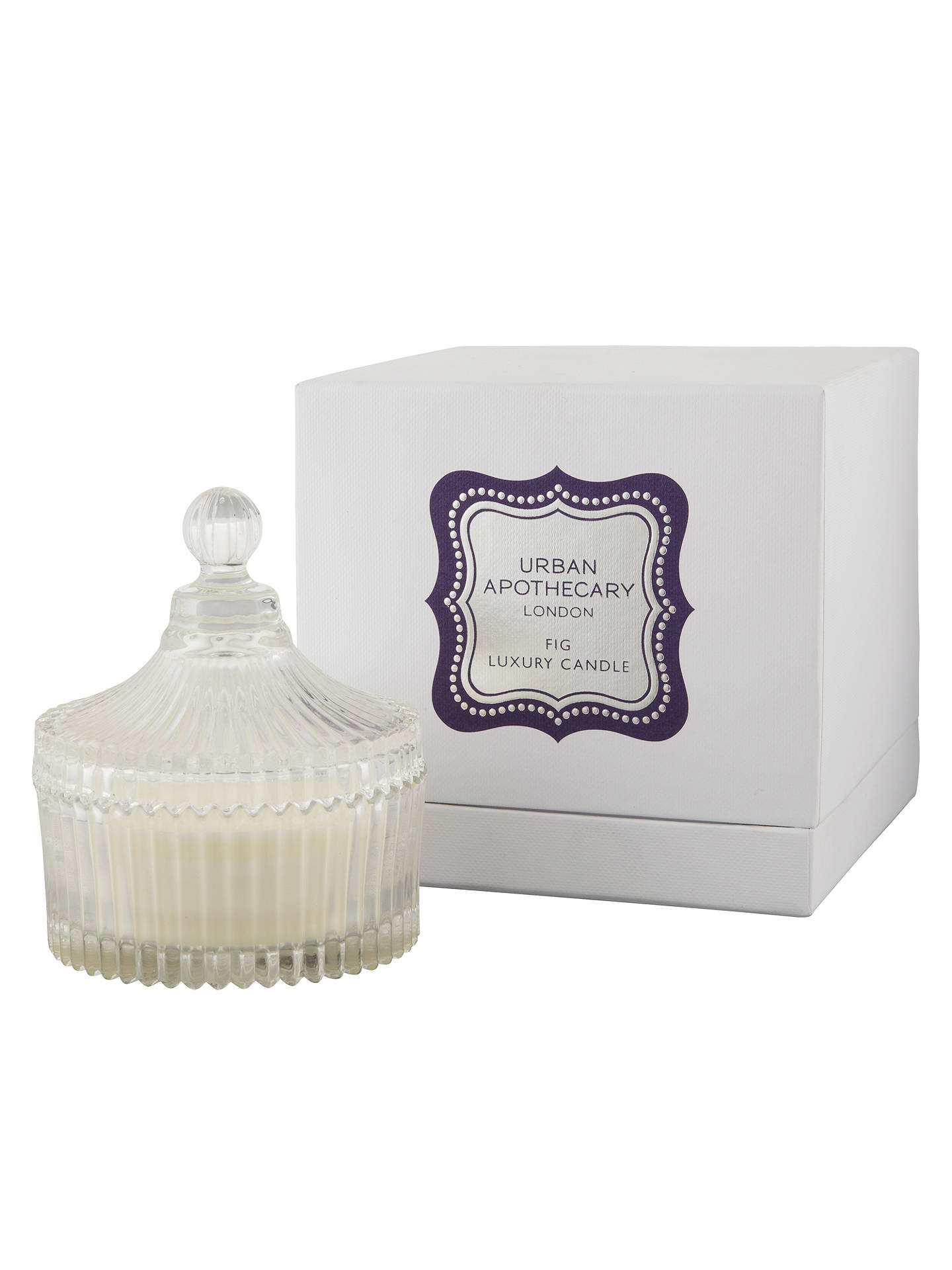 Buy Urban Apothecary Scented Candle in a Jar, Fig Online at johnlewis.com