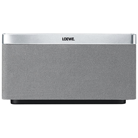 Buy Loewe AirSpeaker with Apple AirPlay, Silver Online at johnlewis.com