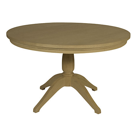 Buy Neptune Henley 120cm Round Pedestal Dining Table, Oak Online at johnlewis.com