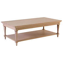 Buy Neptune Henley 120cm Rectangular Oak Coffee Table, Oak Online at johnlewis.com