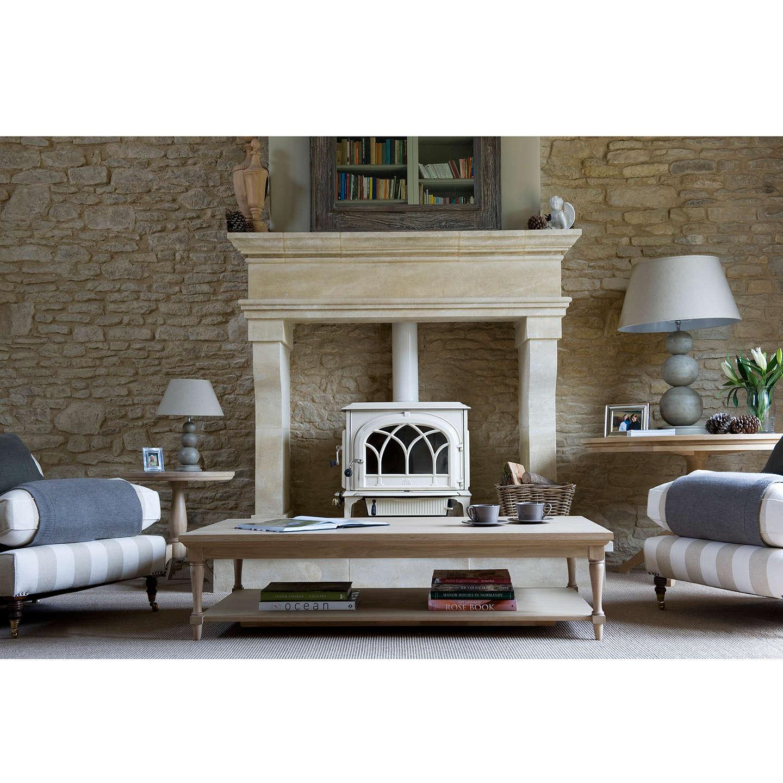 Neptune henley 120cm rectangular oak coffee table oak at john lewis for John lewis home design service reviews