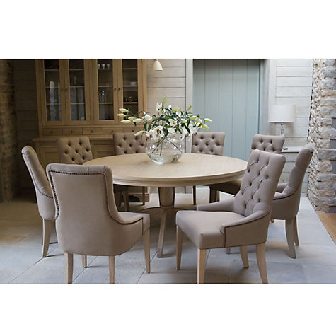 Buy Neptune Henley 150cm Round Pedestal Dining Table Oak Online At Johnlewis