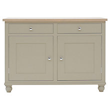 Buy Neptune Suffolk 4ft Sideboard, Honed Slate Online at johnlewis.com