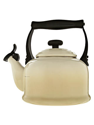 Buy Le Creuset Traditional Stovetop Whistling Kettle, 2.1L, Almond Online at johnlewis.com