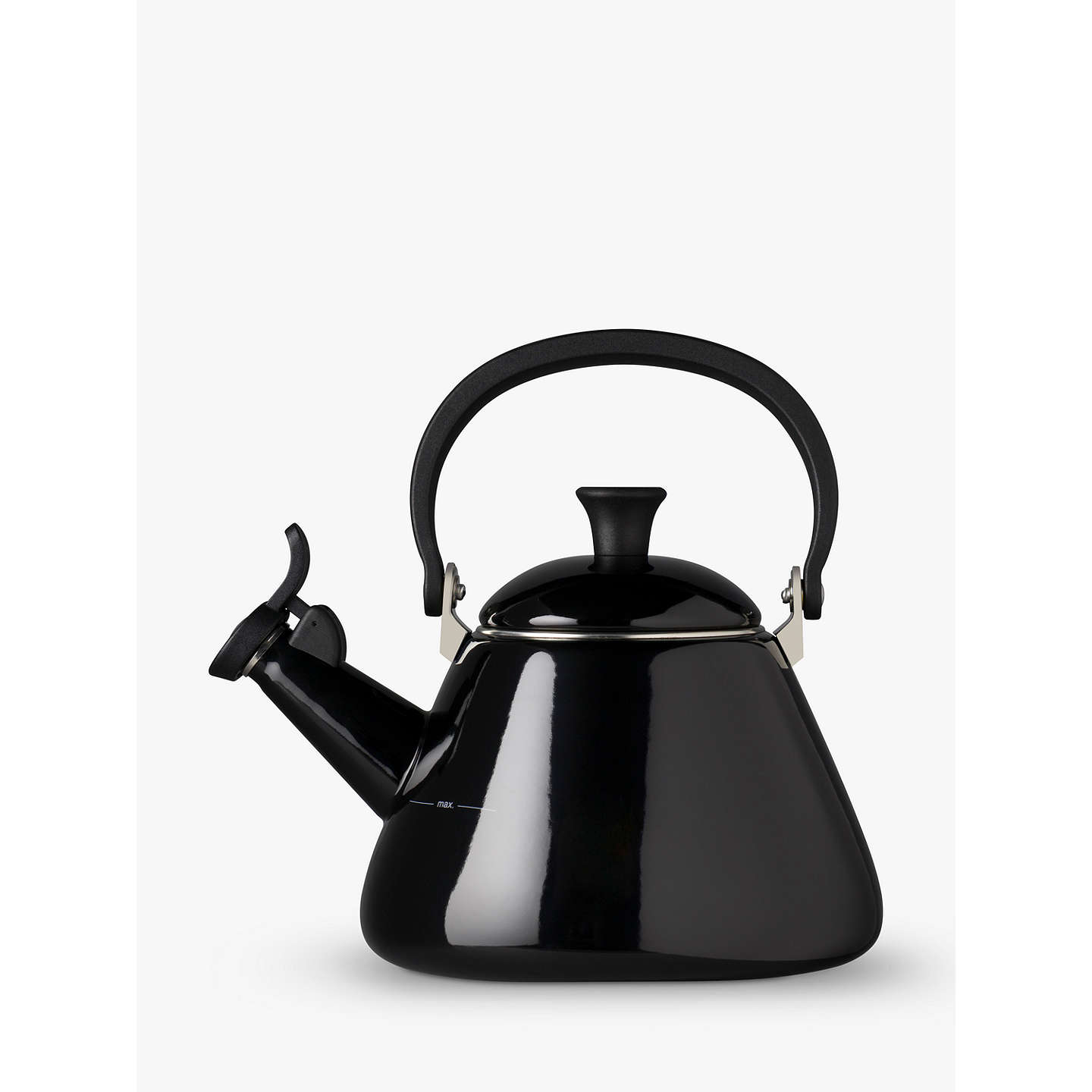 BuyLe Creuset Kone Kettle, 1.6L, Satin Black Online at johnlewis.com