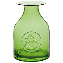 Buy Dartington Crystal Lily Bottle Vase, Green Online at johnlewis.com