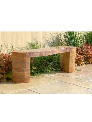 Foras Jasper 130 Curved Rainbow 2 Seat Garden Bench At