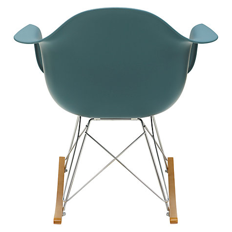 Buy Vitra Eames RAR Rocking Chair, White Online at johnlewis.com