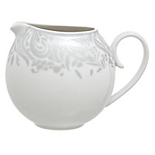 Buy Denby Monsoon Lucille Jug, 300ml, Silver Online at johnlewis.com
