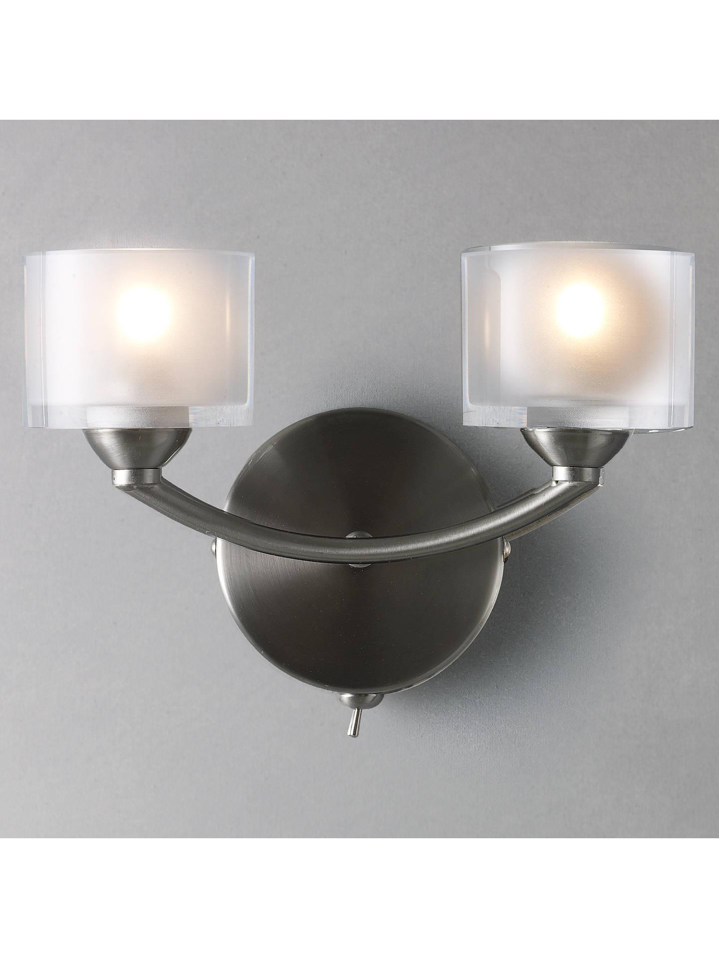 Modern Satin Grey Ceramic Planter Style Flush Wall Lamp with Light Filtering Uplighter Design Home & Kitchen Home & Garden Store