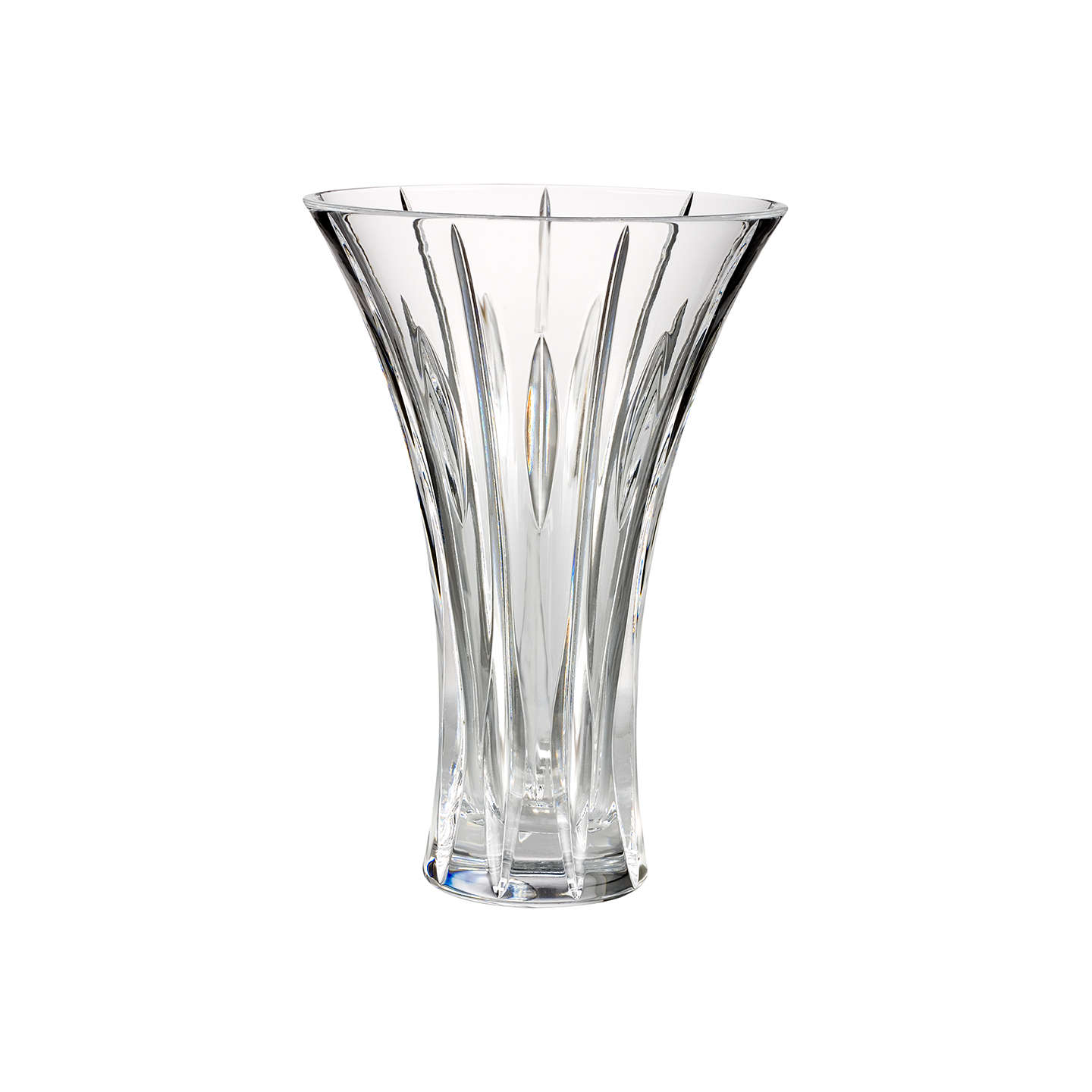 BuyMarquis by Waterford Crystal Sheridan Flared Vase, H23cm Online at johnlewis.com
