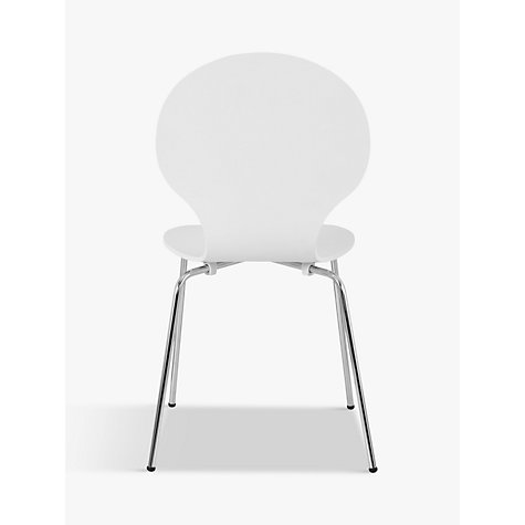 Buy House by John Lewis Curve Dining Chair, White Online at johnlewis.com