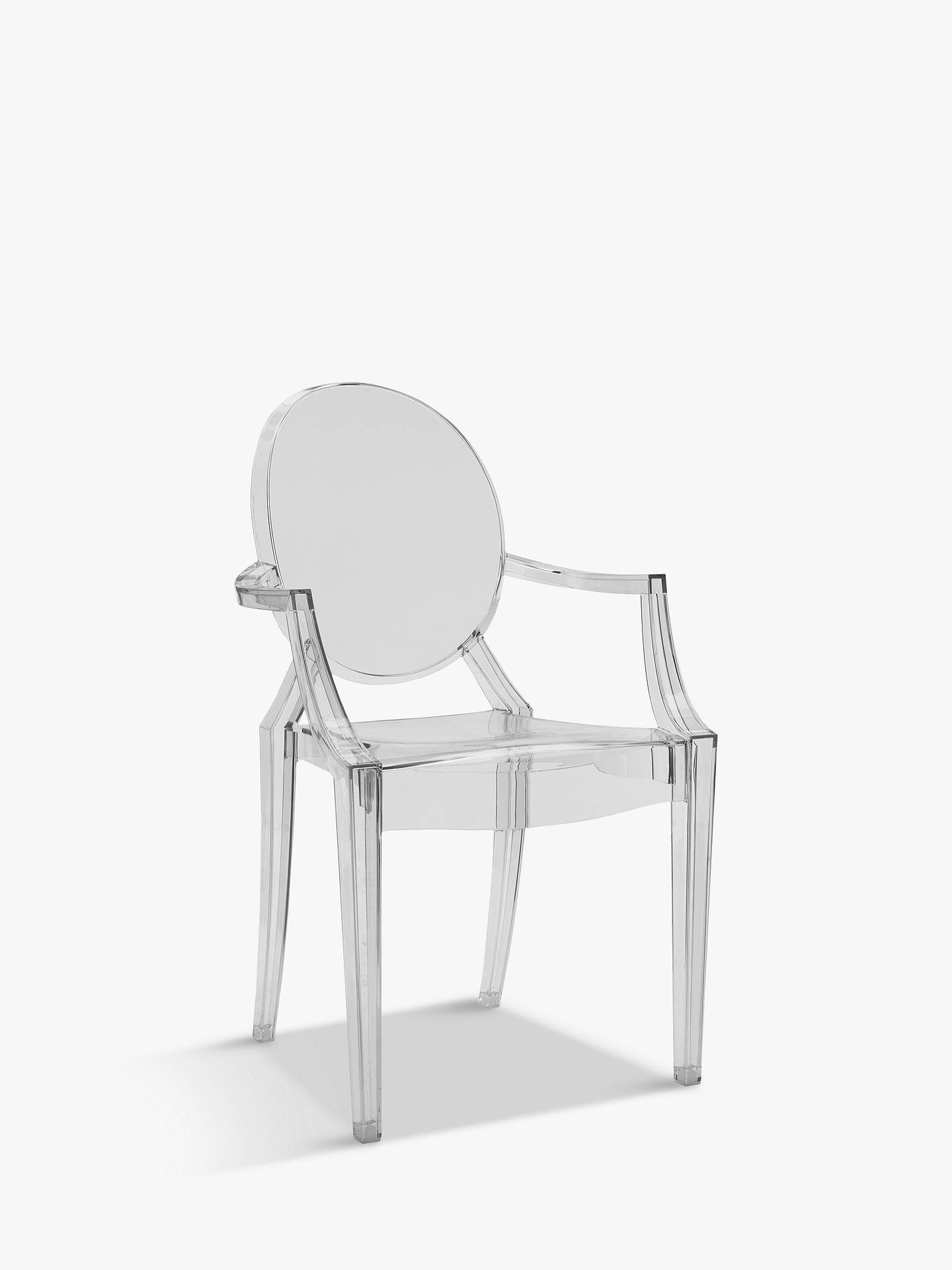 Philippe Starck for Kartell Louis Ghost Chair at John Lewis & Partners