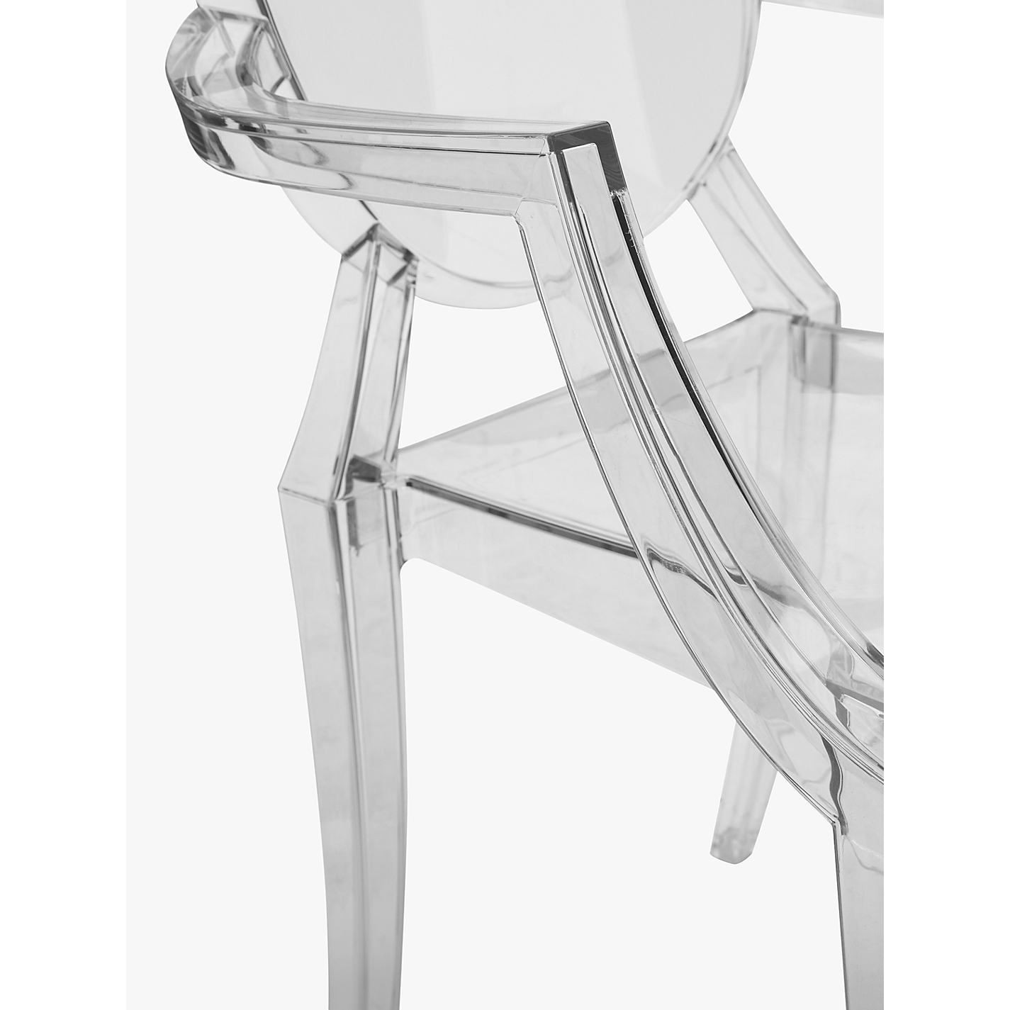 Buy Philippe Starck for Kartell Louis Ghost Chair | John Lewis