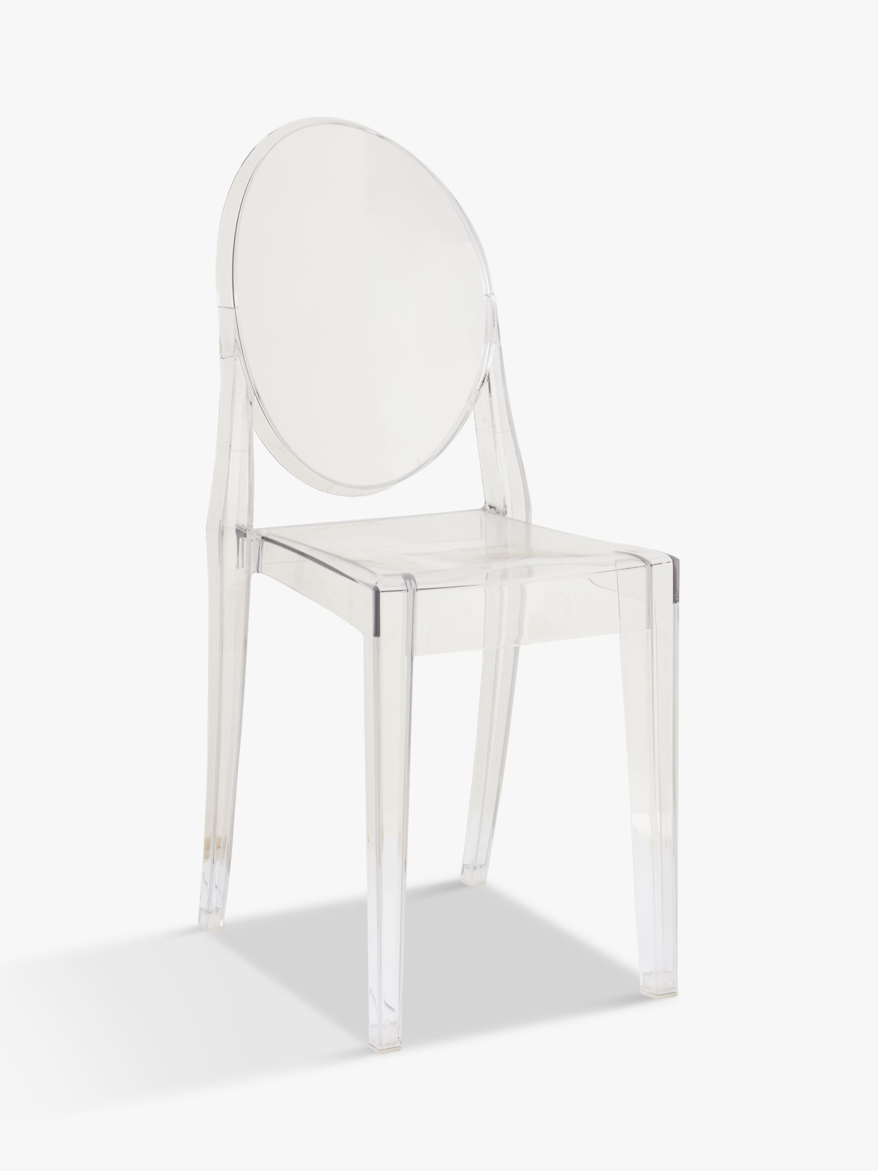 kartell transparant philippe chair starck ghost louis