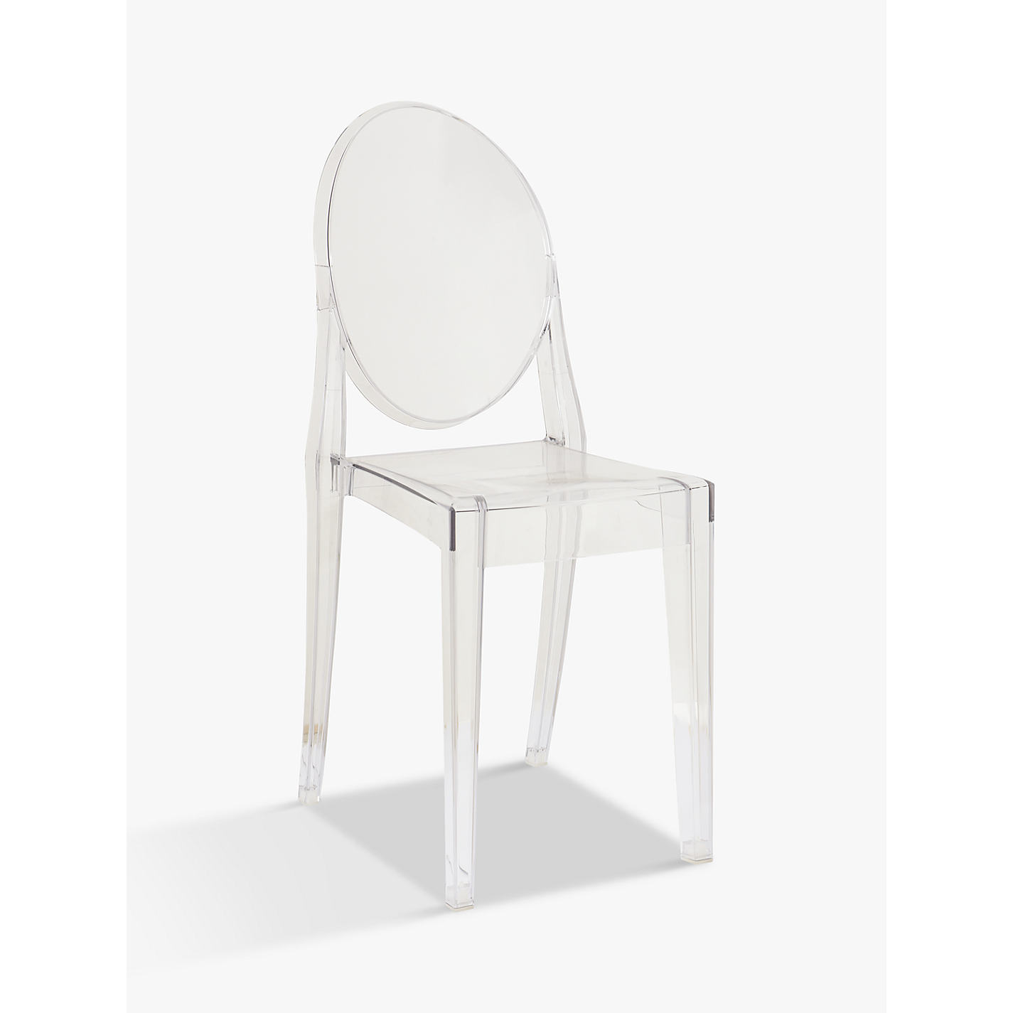 Buy Philippe Starck For Kartell Victoria Ghost Chair Online At  Johnlewis.com ...