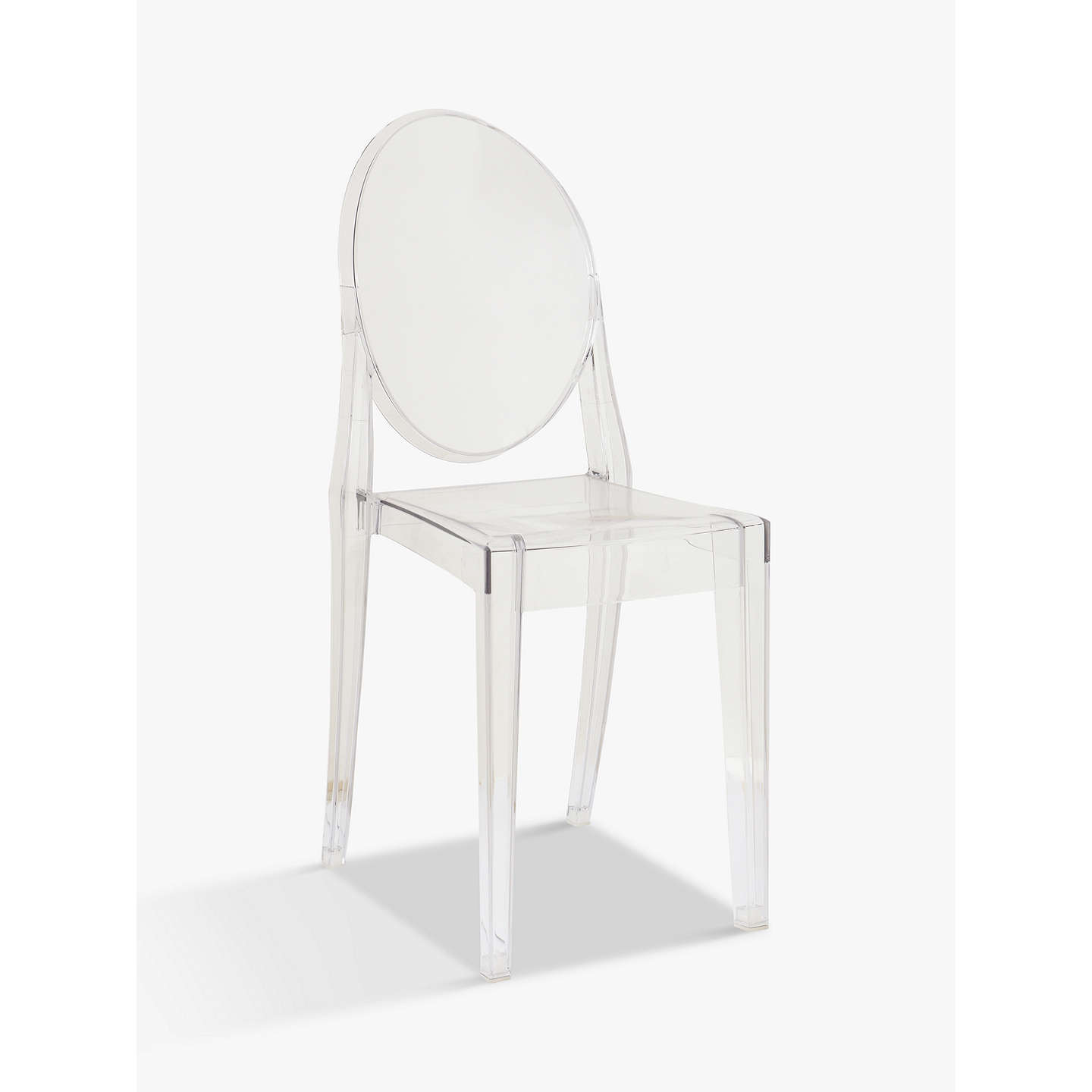 philippe starck for kartell victoria ghost chair at john lewis