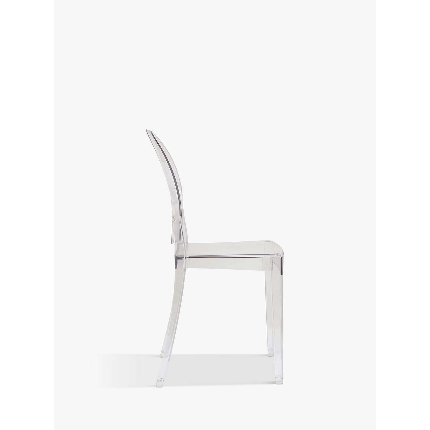 ... BuyPhilippe Starck For Kartell Victoria Ghost Chair, Crystal Online At  Johnlewis.com ...