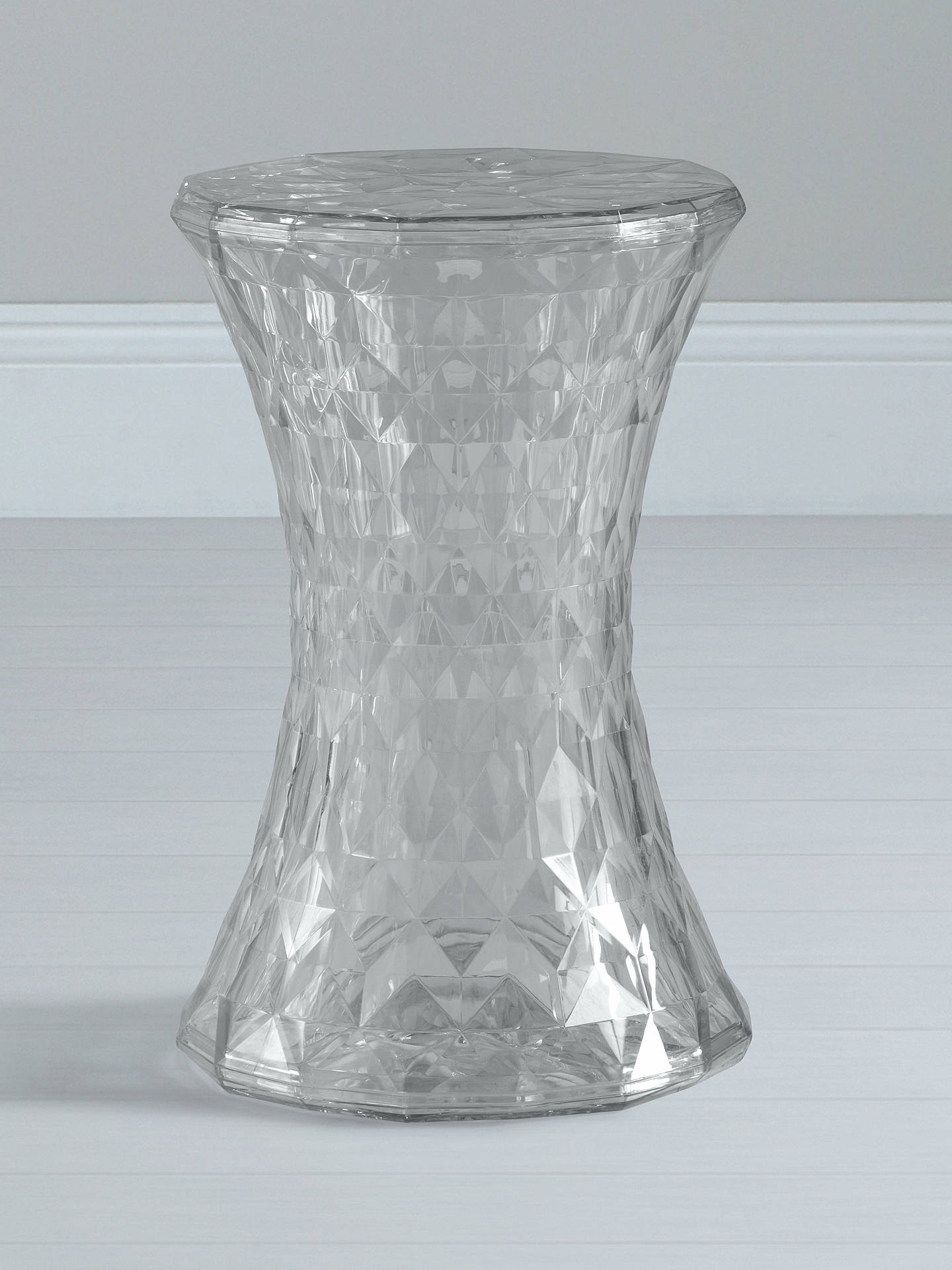 Marcel Wanders for Kartell Stone Stool, Crystal