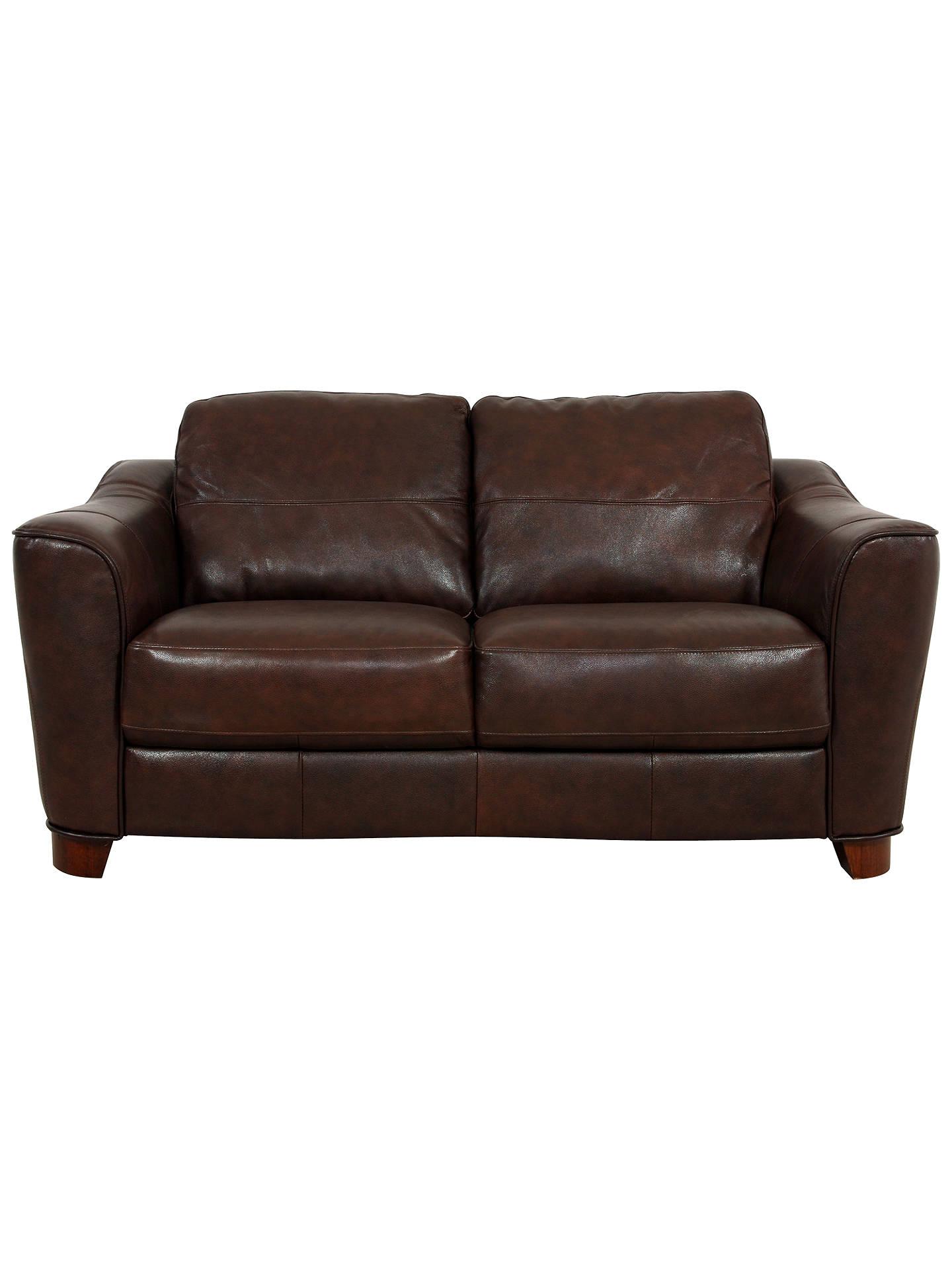 John Lewis Darwin Small Leather Sofa