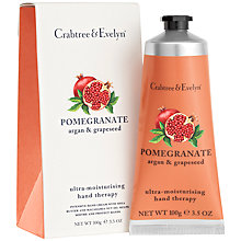 Buy Crabtree & Evelyn Pomegranate Hand Therapy Cream, 100g Online at johnlewis.com