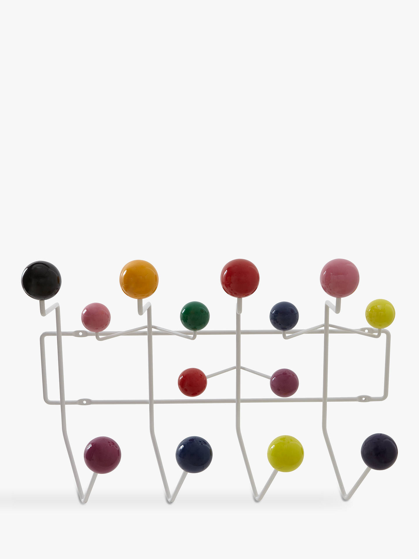 Buy Vitra Eames 'Hang it All' Wall Rack, Multi Online at johnlewis.com