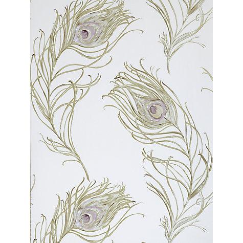 buy prestigious textiles peacock wallpaper heather 1938 153 john lewis. Black Bedroom Furniture Sets. Home Design Ideas