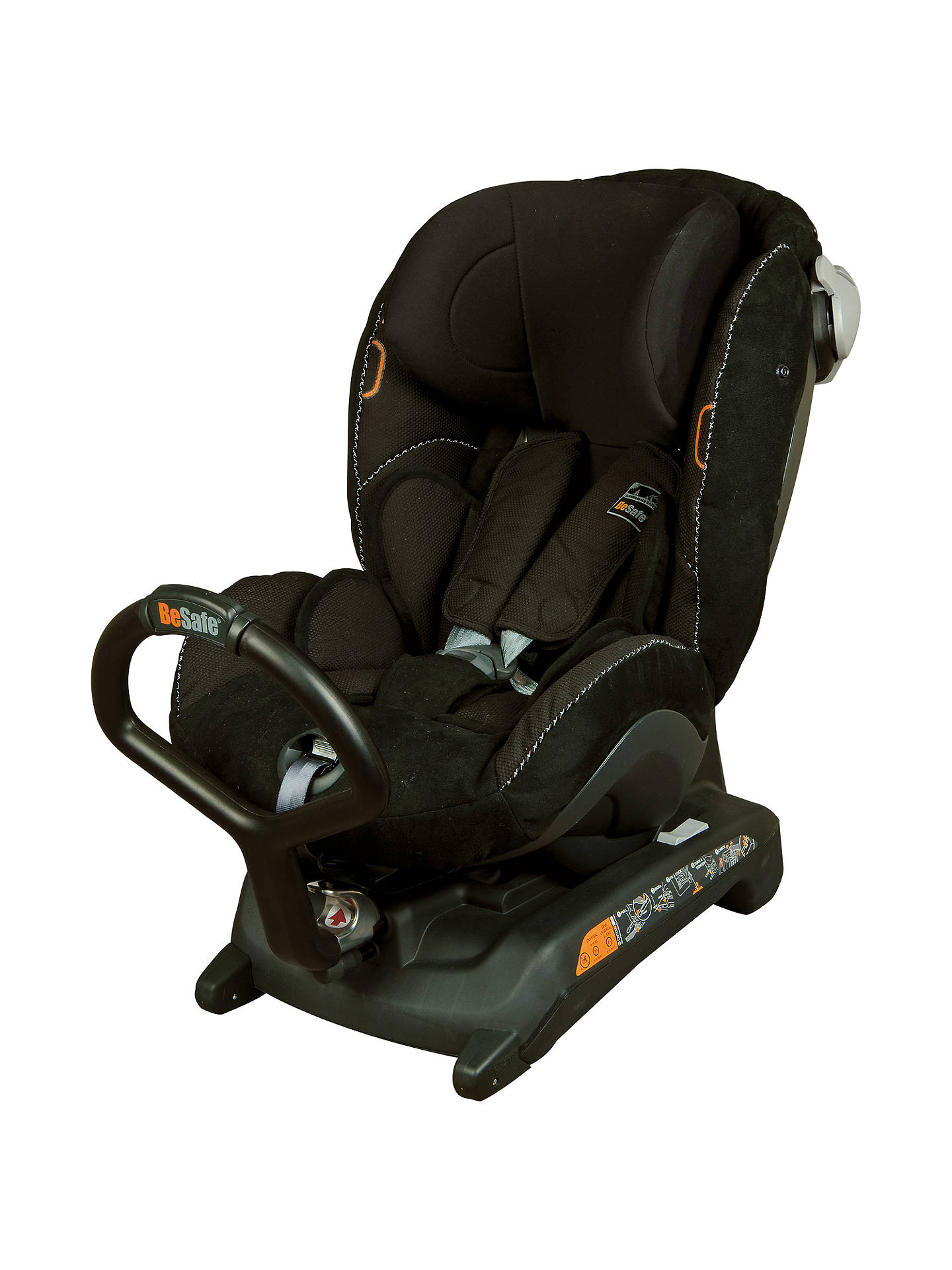 Besafe Izi Combi X3 Isofix Car Seat Black Alcantara Online At Johnlewis