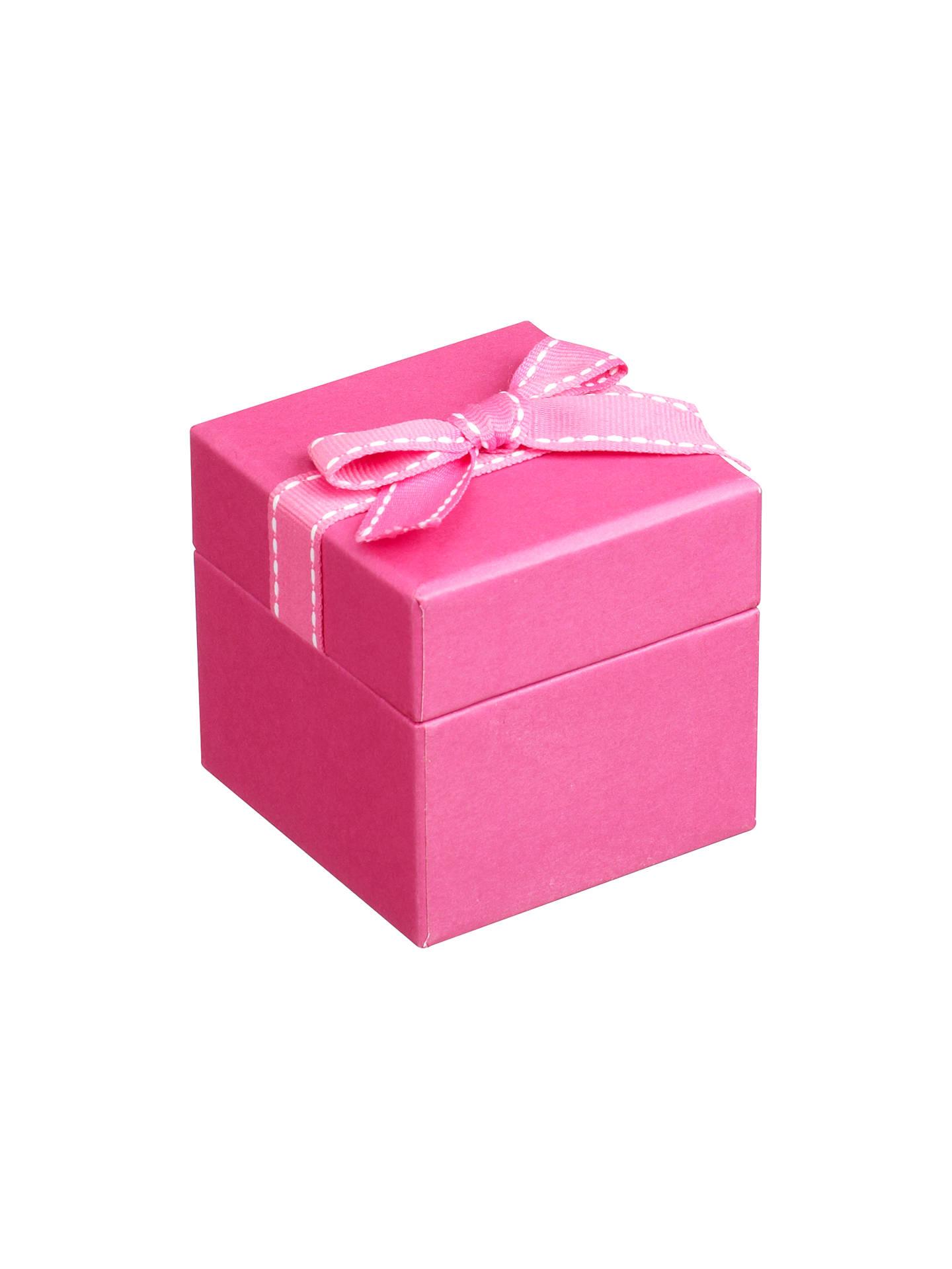 John Lewis Jewellery Gift Box Pink At John Lewis Partners