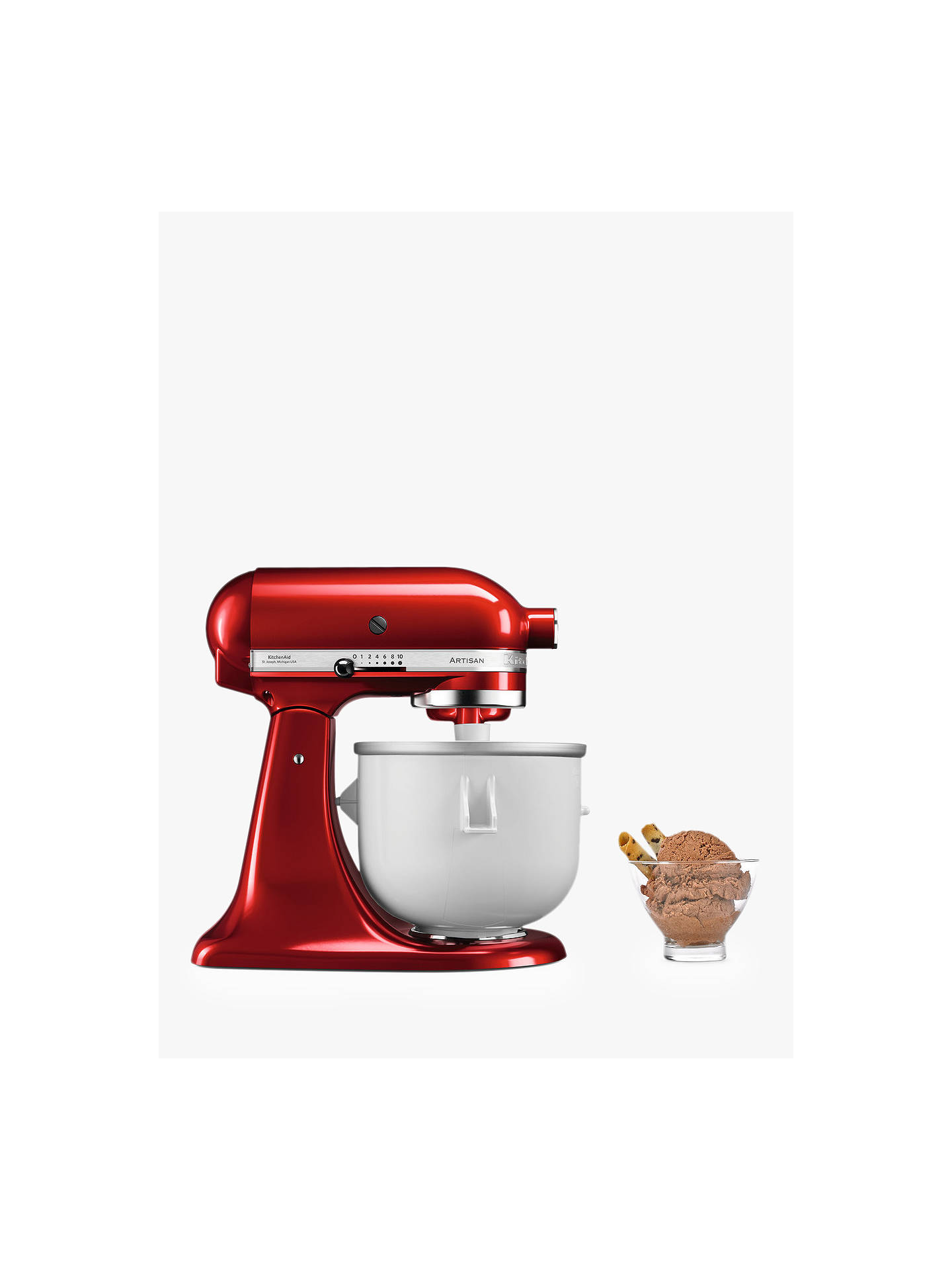 Kitchenaid Ice Cream Maker Accessory For Stand Mixer