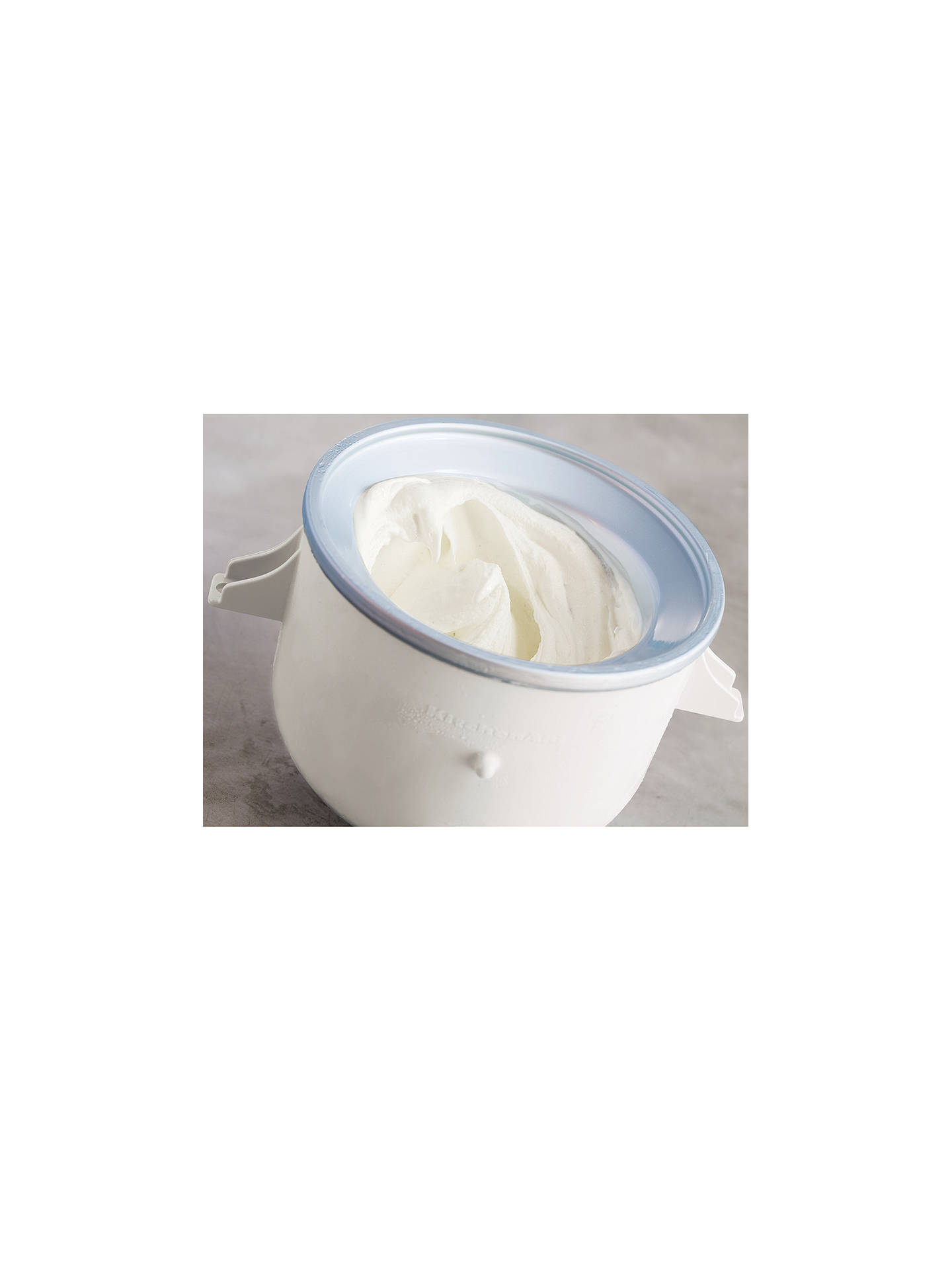 BuyKitchenAid Ice Cream Maker Accessory for Stand Mixer Online at johnlewis.com
