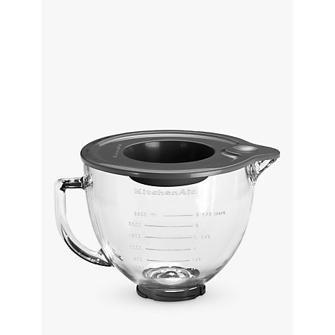 Buy KitchenAid 4.83L Glass Bowl for Stand Mixer Online at johnlewis.com