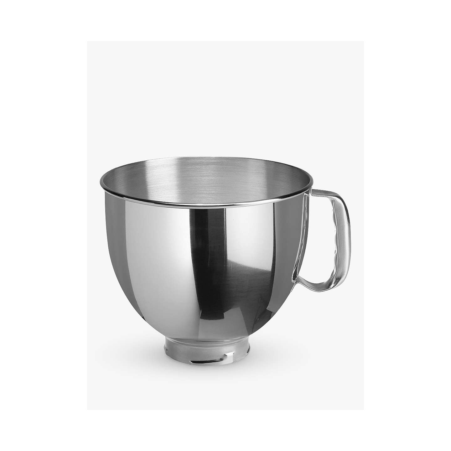 KitchenAid 4.83L Stainless Steel Bowl for Stand Mixer at John Lewis