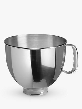 Buy KitchenAid 4.83L Stainless Steel Bowl for Stand Mixer Online at johnlewis.com
