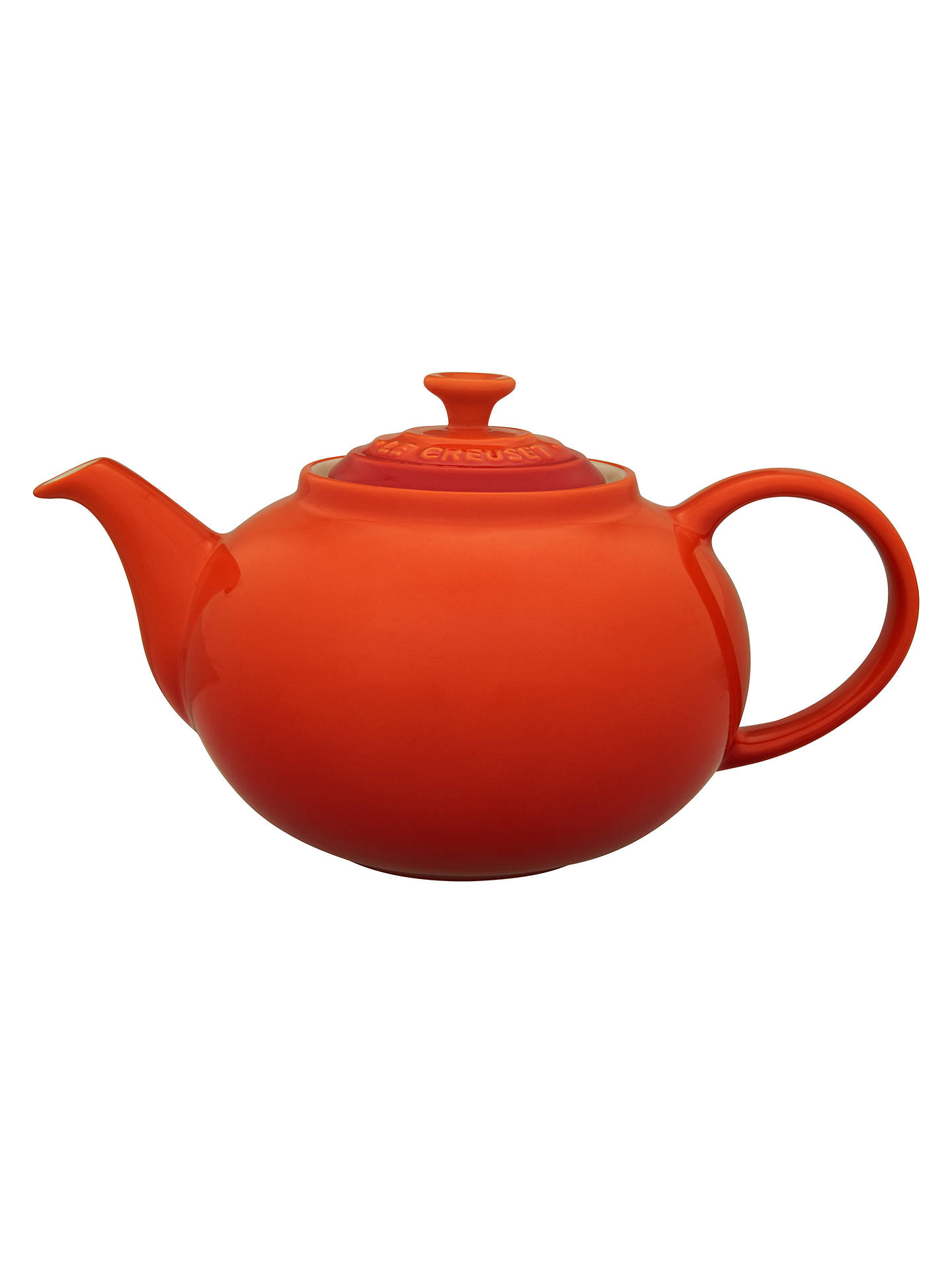 BuyLe Creuset Stoneware Classic 5 Cup Teapot, 1.3L, Volcanic Online at johnlewis.com