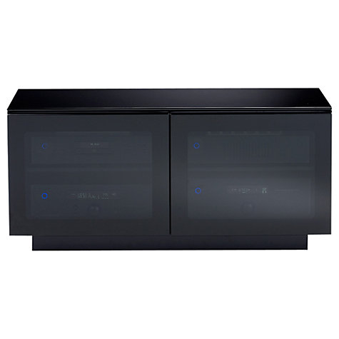 "Buy Mirage 8224/BL TV Stand for TVs up to 42"", Black Online at johnlewis.com"