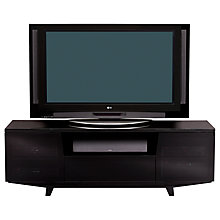"Buy BDI Marina 8729-2/GB TV Stand for TVs up to 82"", Black Online at johnlewis.com"