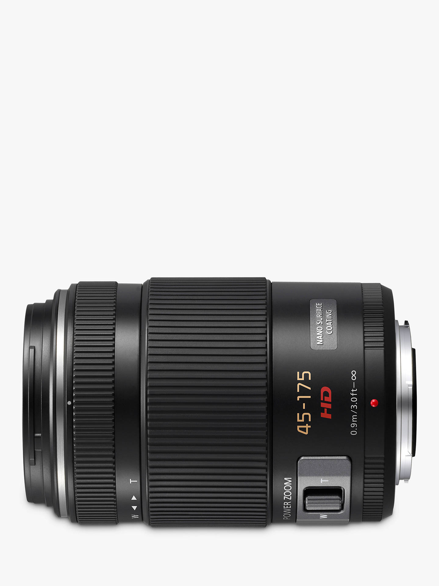 Buy Panasonic Lumix G X VARIO PZ 45-175mm/F4.0-5.6 ASPH./POWER O.I.S Telephoto Lens Online at johnlewis.com