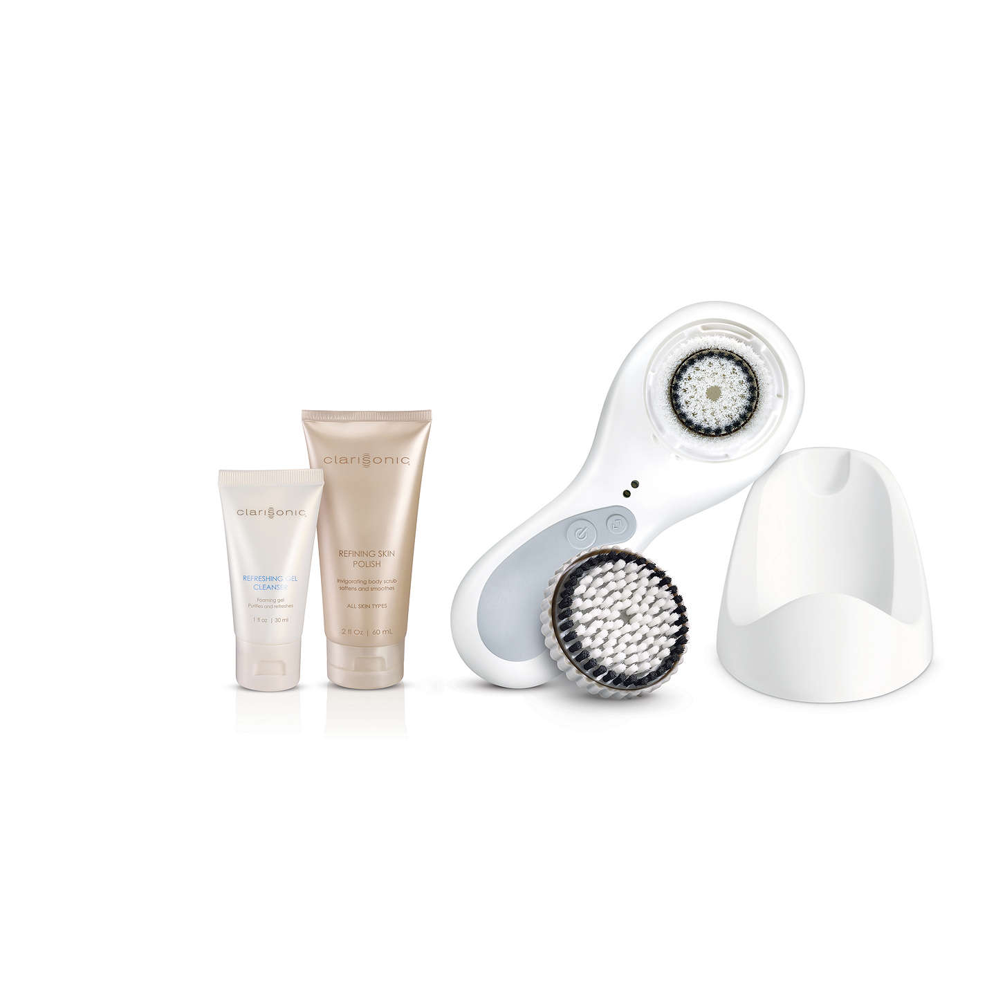BuyClarisonic Plus Sonic Skin Cleansing System, White Online at johnlewis.com