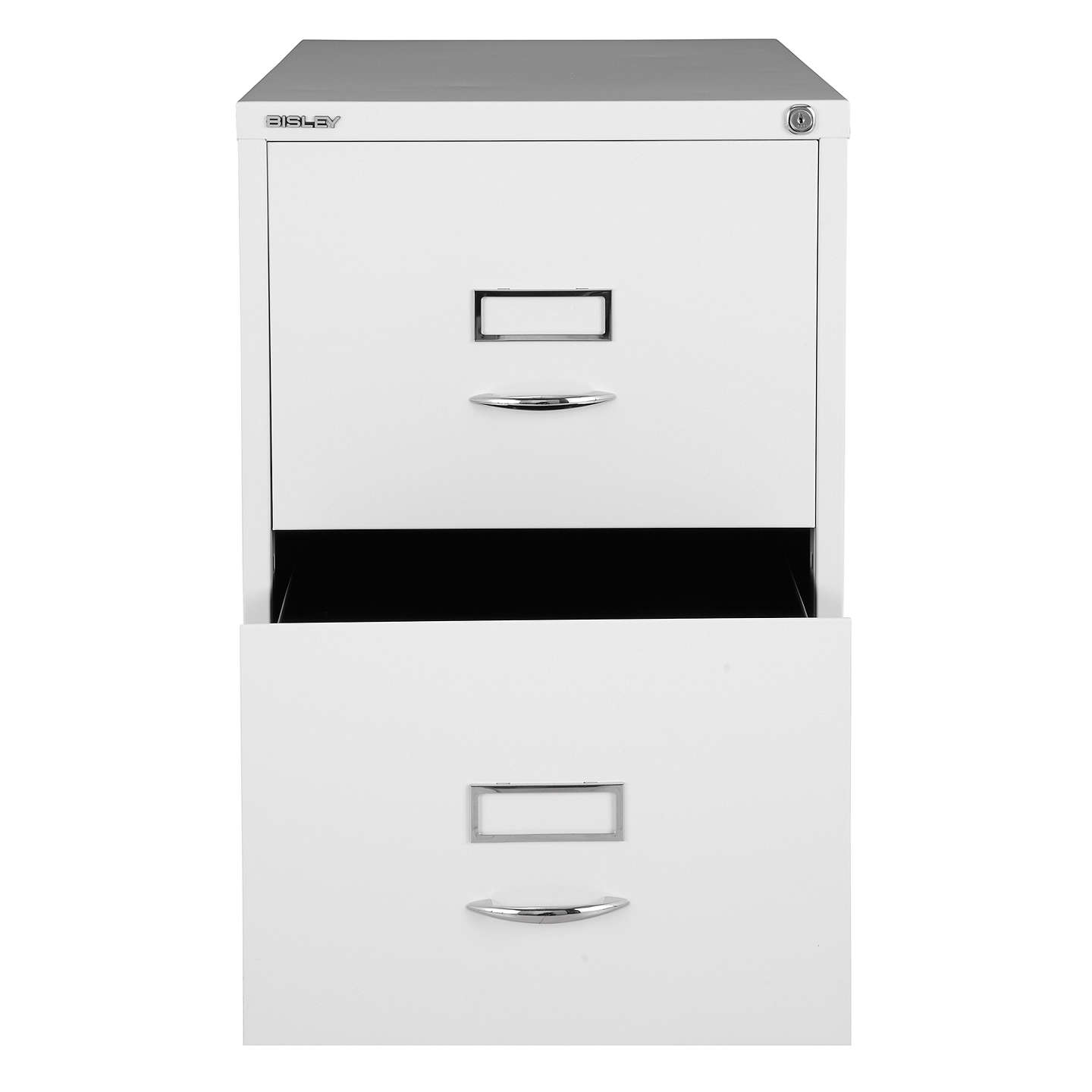 BuyBisley 2 Drawer Filing Cabinet, Chalk Online at johnlewis.com