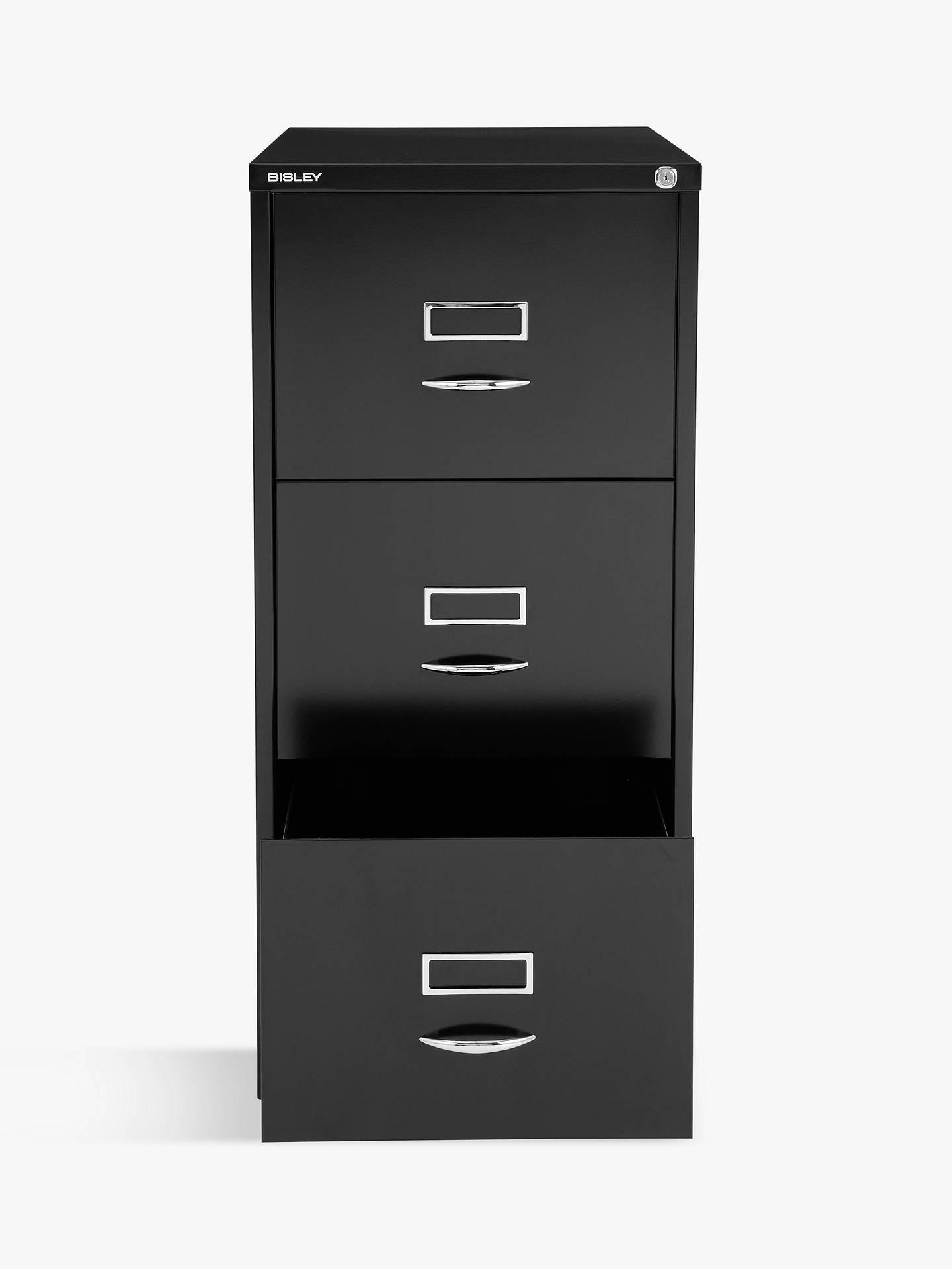 143ec0a2869 Bisley 3 Drawer Filing Cabinet at John Lewis   Partners