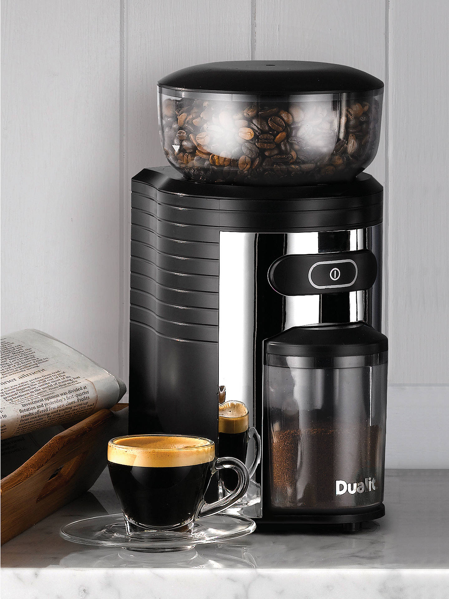 BuyDualit Burr Coffee Grinder Online at johnlewis.com