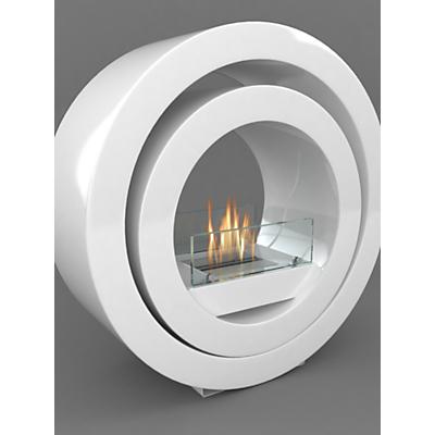 Imagin Globus Bioethanol Fireplace, White