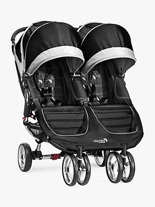 Baby Jogger City Mini Twin Pushchair, Black